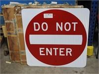 4- do not enter signs
