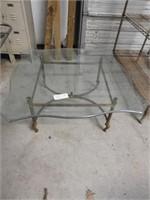 hollywood regency mid century coffee table