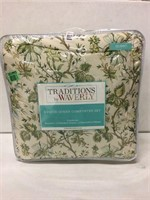 TRADITIONS BY WAVERY 6 PIECE QUEEN COMFORTER