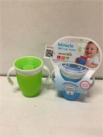 MIRACLE BABY'S CUP (2PCS)