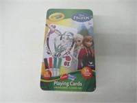 Crayola Disney Frozen Playing Cards 4 Washable