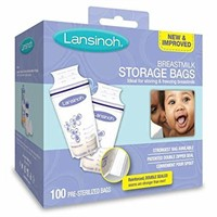 Lansinoh Breastmilk Storage Bags, 100 Count, BPA