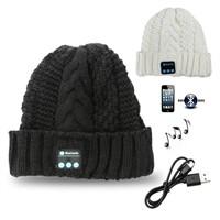 Bluetooth Beanie Hat Wireless Musical Earphones