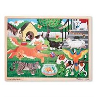 Melissa & Doug Pets at Play Wooden Jigsaw Puzzle