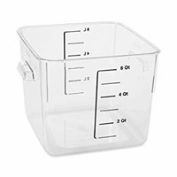 Rubbermaid Commercial Carb-X Space Saving Square
