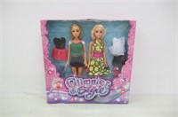 Glimmer and Style Fantasy Collection Dolls - 2