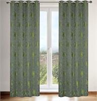 LJ Home Fashions Tania Faux Silk Vintage Floral