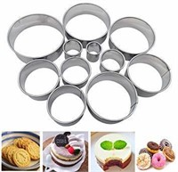 Cookie Cutter Biscuit Cutter Set of 12 - Nesting