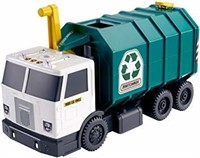 """Matchbox Garbage Large-Scale Recycling Truck, 15"""""""