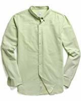 MOCOTONO Men's XL Oxford Long Sleeve Button Down