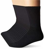 Hanes Men's Size 6-12 12-Pack FreshIQ Crew Socks,