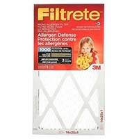 Filtrete MPR 1000 14x25x1 Micro Allergen Defense