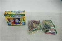 (2) Lot of Various Crayola Paints/Crayons