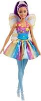 Barbie Dreamtopia Rainbow Cove Fairy Doll, Purple