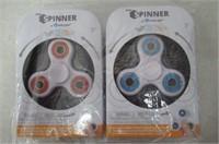 (2) Zuru Fidget Spinners Red / Blue