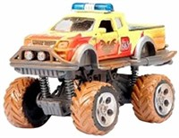 Dicky Toys Rally Monster Truck Yellow