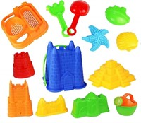 Click N' Play CNP2609 13 Piece Sand Castle Mold