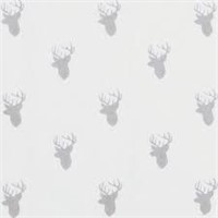 Trend Lab Gray Stag Silhouettes Deluxe Flannel