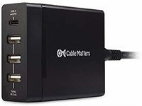 Cable Matters 72W 4-Port USB C Charger (USB C