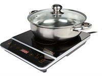 Rosewill 1800W Induction Cooker Cooktop, Included