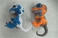 """(2) Untamed T-Rex by Fingerlings """" Scratch"""
