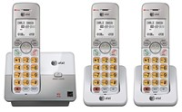 AT&T DECT 6.0 3 Cordless Phones with Caller ID,