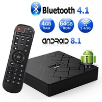 Android 8.1 TV Box with 4GB RAM 64GB ROM RK3328
