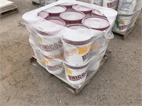 Pallet -18 5GAL Buckets NEW White Stucco