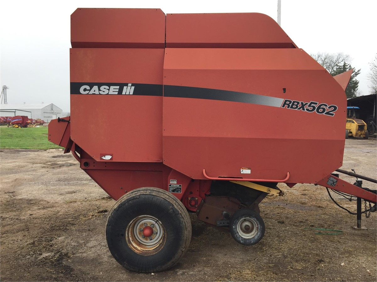 2003 CASE IH RBX562 For Sale In Wharton, Texas
