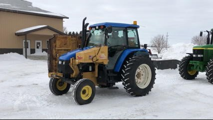 Lot # 6363 - 2003 NEW HOLLAND TS110