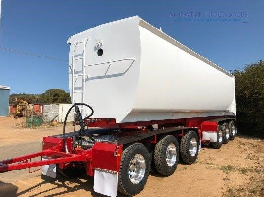 2019 Dongara Grain Tipper Trailer Midwest Truck Sales - Trailers for Sale