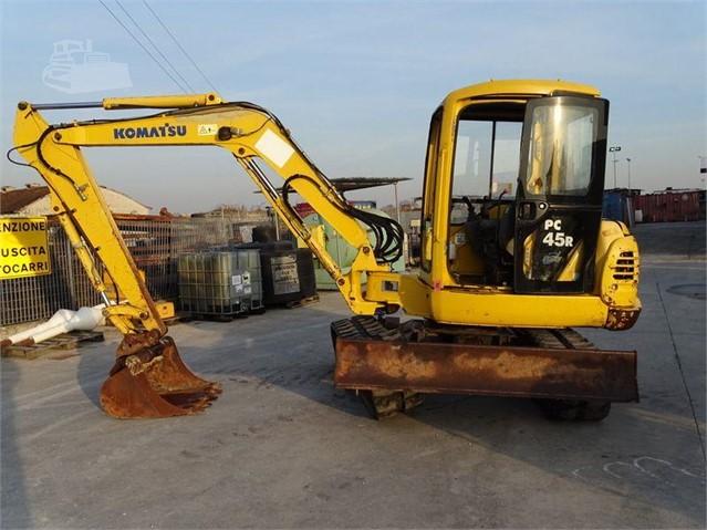 Komatsu pc45 for sale 16 listings   machinerytrader. Com. Au.