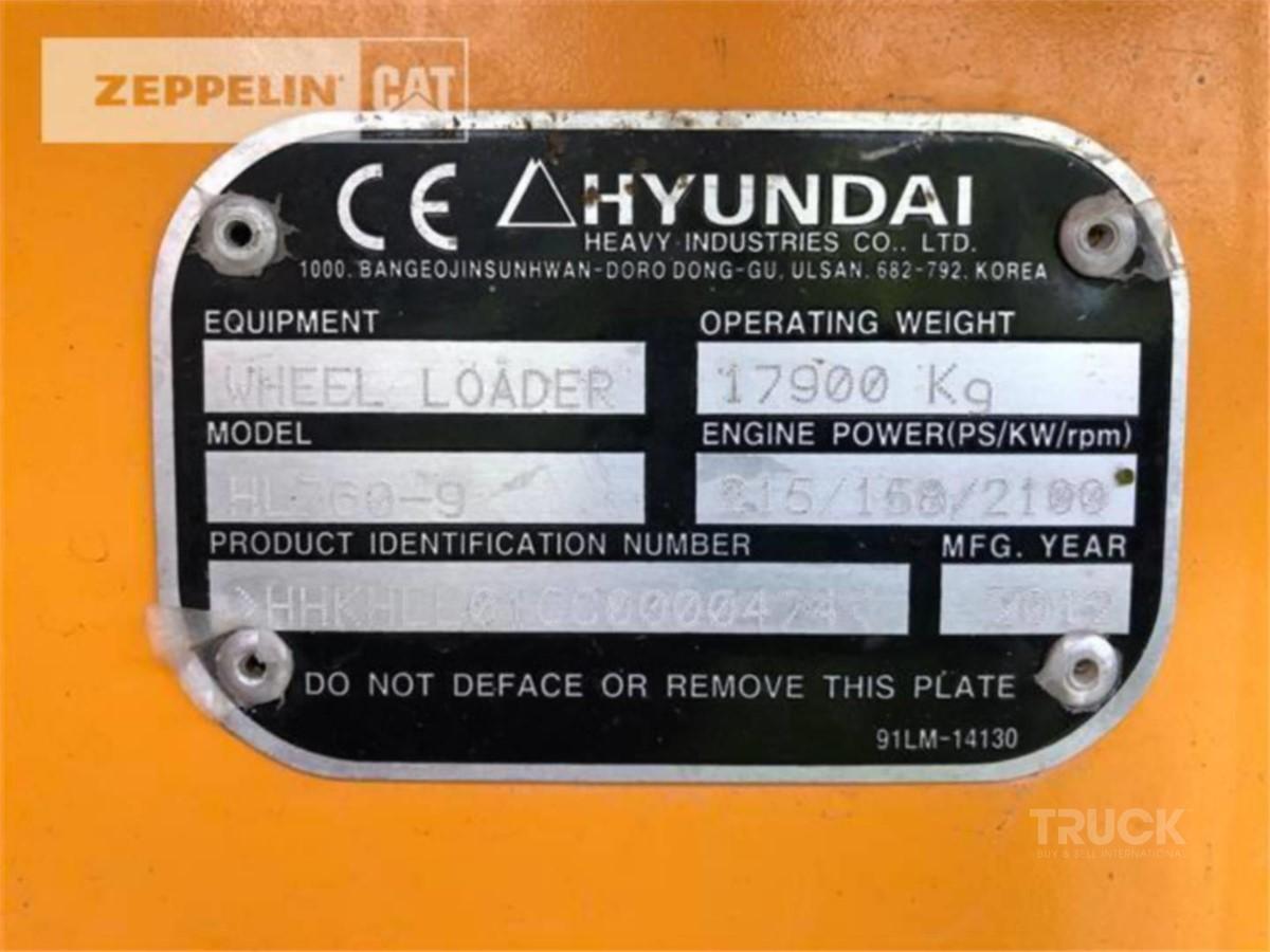 HYUNDAI HL760-9