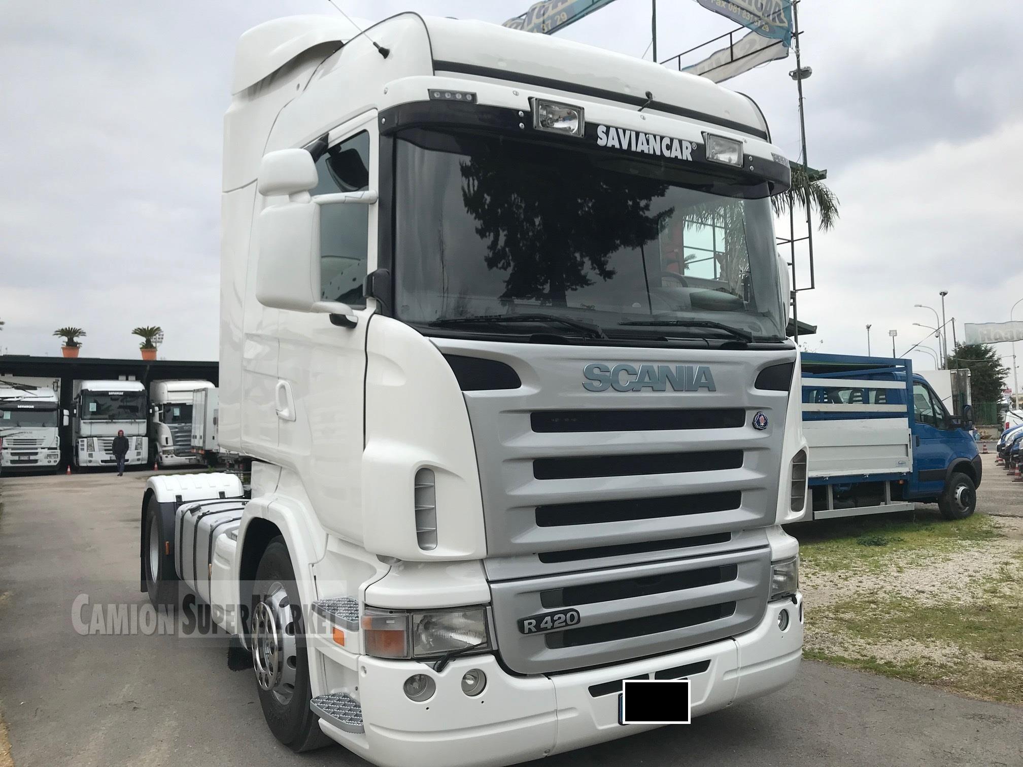 Scania R420 used 2006 Campania