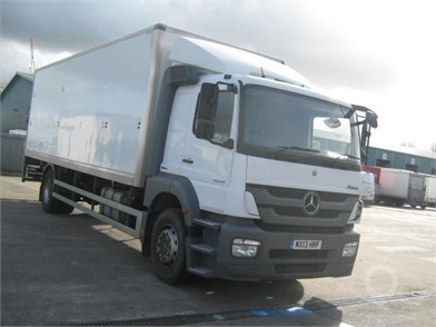 125995f6c9 Used MERCEDES-BENZ ATEGO 1823 Box Trucks for sale in the United ...