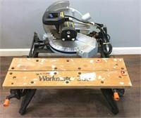 Workmate 300 Work Bench/delta Chop Saw