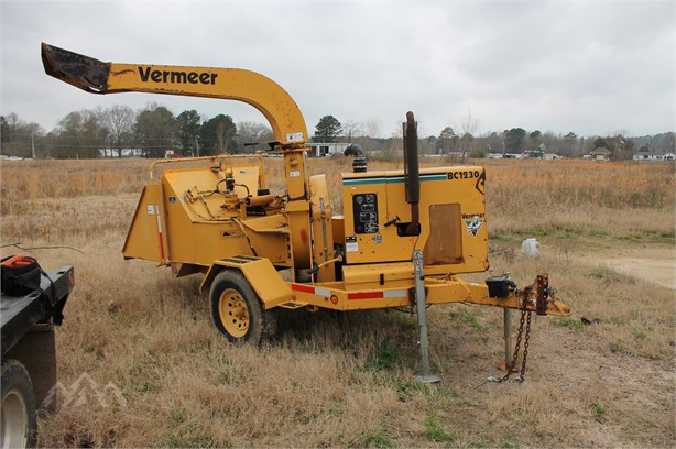 VERMEER BC1230 Wood Chippers Logging Equipment Auction