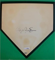 2 RAWLINGS AUTOGRAPHED HOME PLATES, SIGNATURES TO