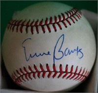 LOT OF 3 HALL OF FAME SIGNED BASEBALLS TO INCLUDE