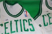 LOT OF 6 BOSTON CELTIC SIGNED JERSEYS TO INCLUDE
