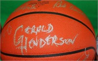 LOT OF 3 SPALDING NBA SIGNED BASKETBALLS TO