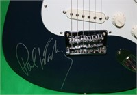 FENDER SQUIER GUITAR SIGNED BY PAUL MCCARTNEY