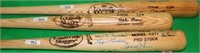 LOT OF 3 LOUISVILLE SLUGGER SIGNED BATS TO