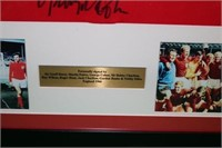 ENGLISH NATIONAL TEAM 1966 SIGNED SOCCER JERSEY,