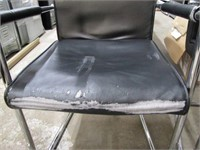 (2) RECEPTION CHAIRS (MINOR DAMAGE)