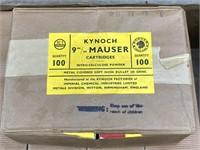 1000 Rounds Kynoch 9mm Mauser Bullets