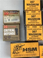 700 rounds .357 magnum ammunition