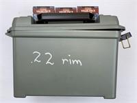 6300 Rounds Federal .22LR Rimfire Ammunition