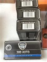 700+ Rounds 380 Auto Ammunition
