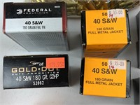 690+ Rounds .40 S&W Ammunition